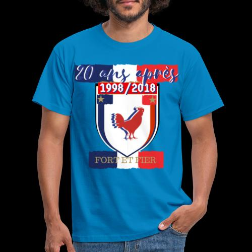 france FRANCE foot coupe du monde football - T-shirt Homme