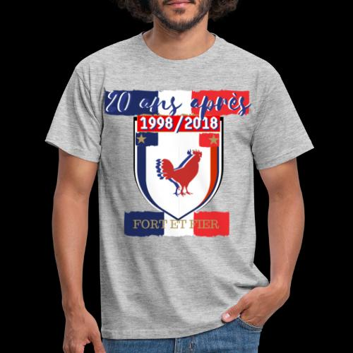 france FRANCE foot coupe du monde football - T-shirt Homme