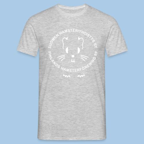 Valkoinen logo - Miesten t-paita