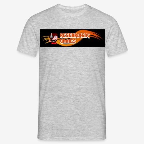 resgames Logo ab 2013 - Männer T-Shirt