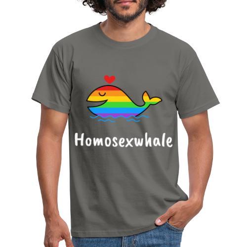 Ballenita Orgullo Gay | LGTBI Arco Iris - Camiseta hombre