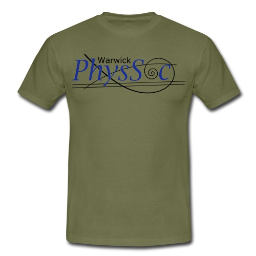 Official Warwick PhysSoc T Shirt - Men's T-Shirt