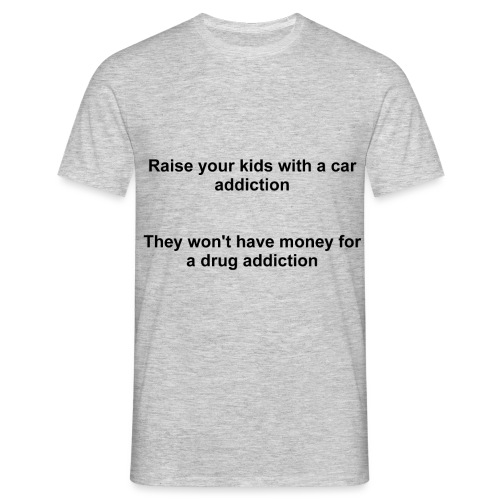 Car Addiction - Men's T-Shirt