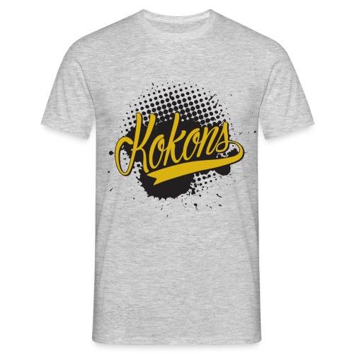 Kokons black t shirt - Men's T-Shirt