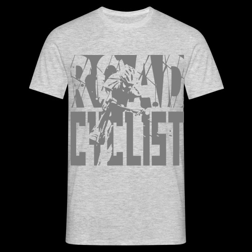 Road Cyclist Grey - Men's T-Shirt