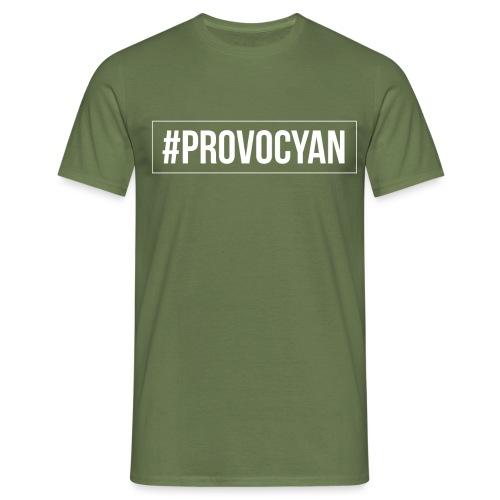 provocyan - Männer T-Shirt