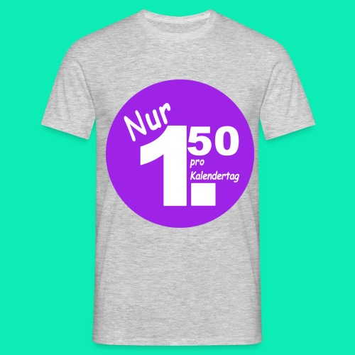 Pro Kalendertag - Lila - Männer T-Shirt