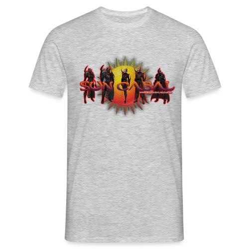 SUN CABAL LOGO 5 png - Men's T-Shirt