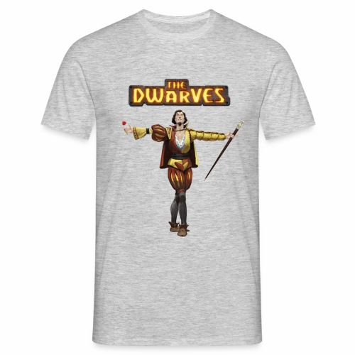 rodario_withdwarveslogo - Men's T-Shirt
