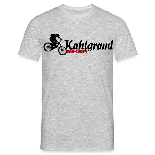 KgB_Logo_new@0,25x - Männer T-Shirt