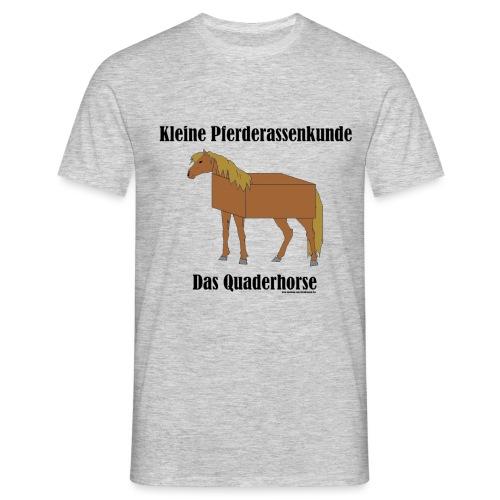 Quaderhorse - Männer T-Shirt