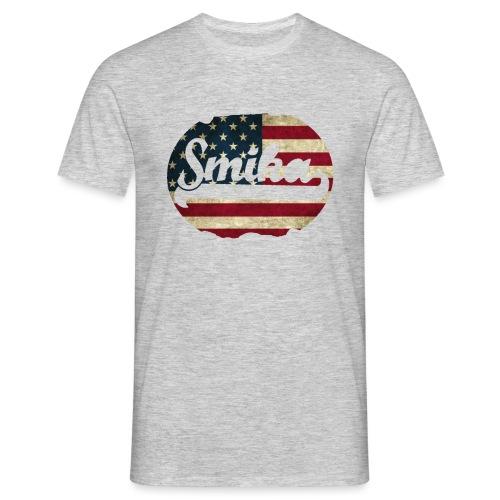 America-Smika-Flag - Männer T-Shirt