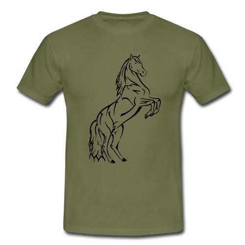 horse sreadshirt gif gif - Men's T-Shirt