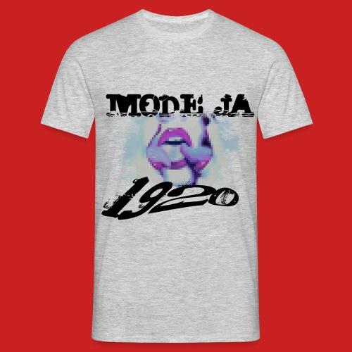ModeJa1920 png - Männer T-Shirt