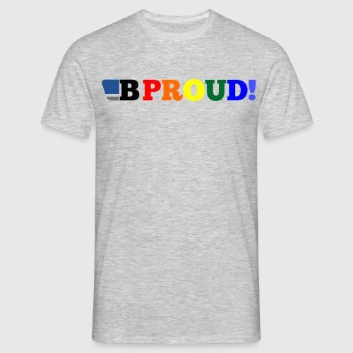 B-ProudrainbowSpread - Men's T-Shirt
