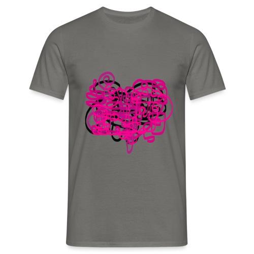 delicious pink - Men's T-Shirt