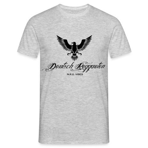 Adler Deutschreggaeton black - Männer T-Shirt