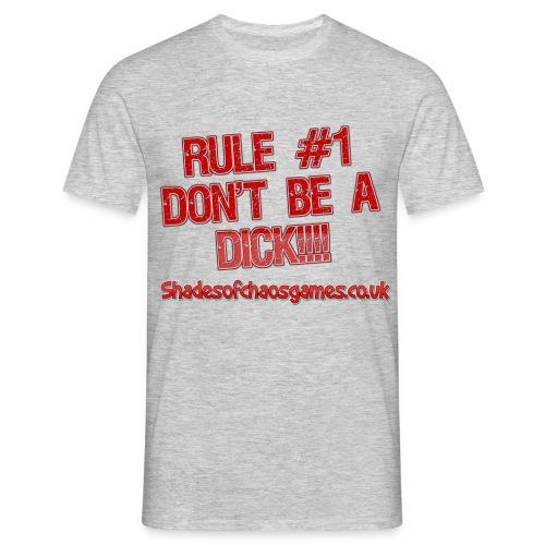 1st rulered - Men's T-Shirt