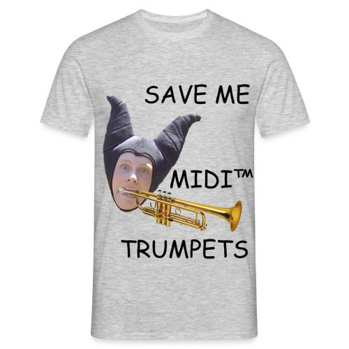 MIDI Trumpets - Men's T-Shirt