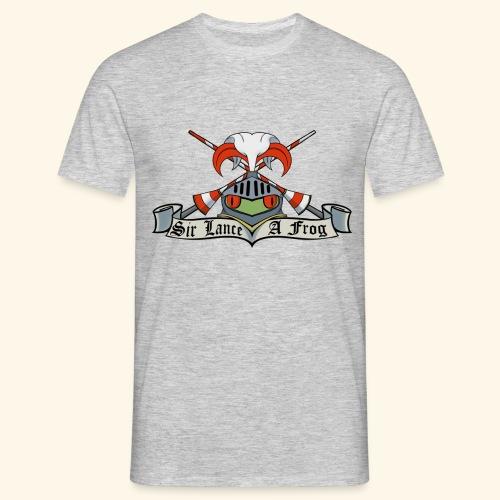 Sir Lance-a-frog Coat of Arms - Men's T-Shirt