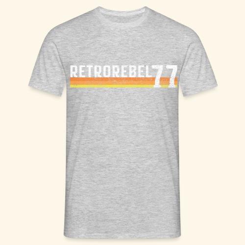 retrorebel77lassictr png - Herre-T-shirt