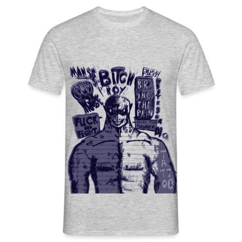bitchrdywazig - Mannen T-shirt
