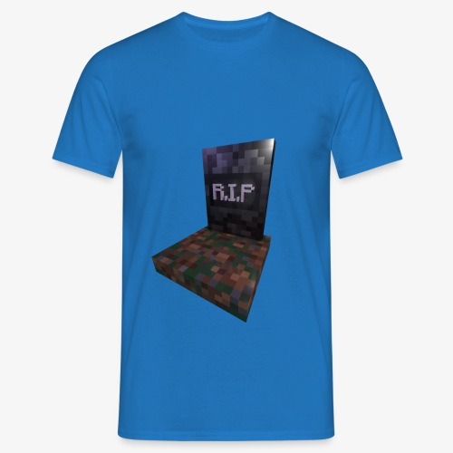 mc rip gravestone - T-shirt Homme