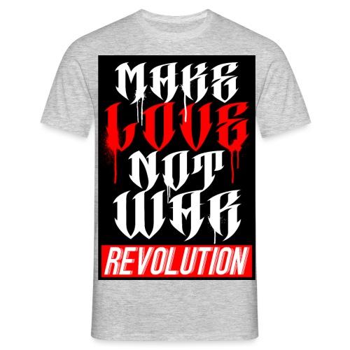 DMS Make Love - Männer T-Shirt