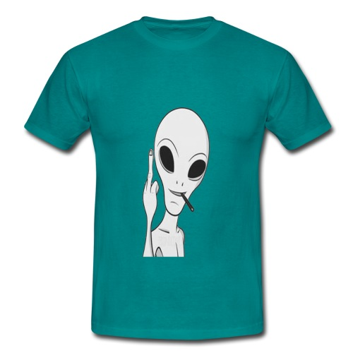stoner alien - T-shirt Homme