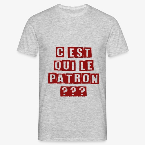 Le Patron - T-shirt Homme