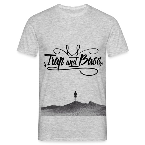 trap and bass png - Men's T-Shirt