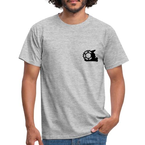 Black White - Combined - Männer T-Shirt