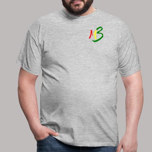 MB13 Logo rasta2 - Men's T-Shirt