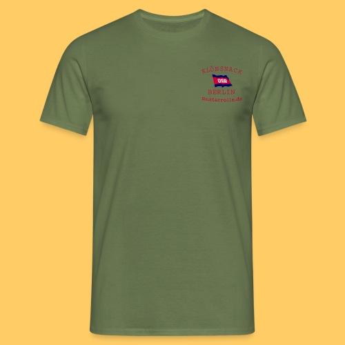 KiB Logo - Männer T-Shirt