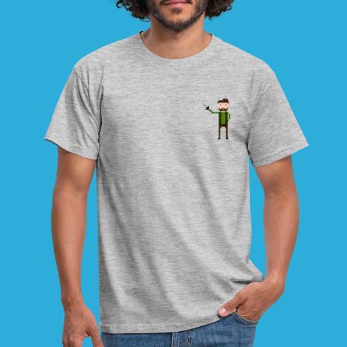 adventurer with beard - Mannen T-shirt