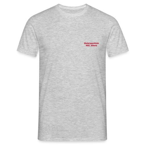 msc_70mm_text_ws - Männer T-Shirt