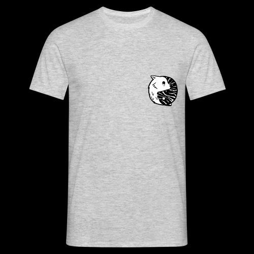 Ying Yang Pixelart - Männer T-Shirt