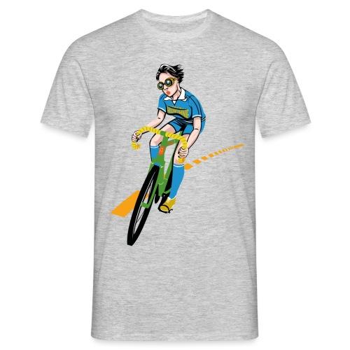 The Bicycle Girl - Männer T-Shirt