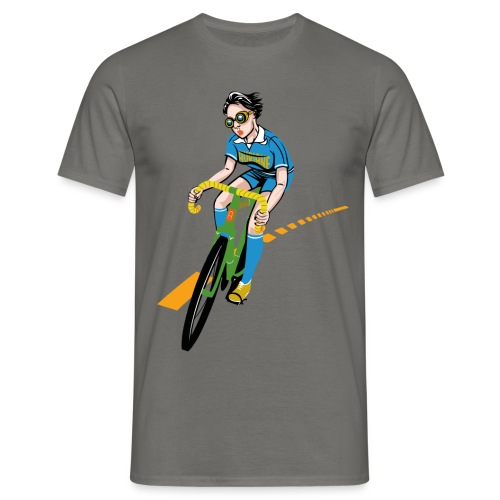 The Bicycle Girl - Männer T-Shirt