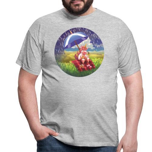 Licorne en Ecosse - Unicorn in Scotland - T-shirt Homme