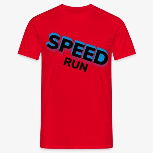 Speedrun - Mannen T-shirt