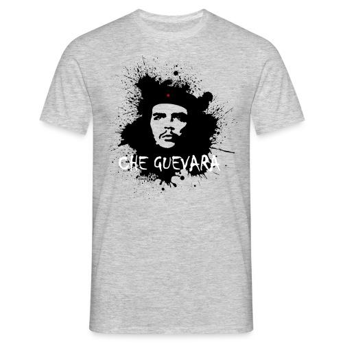 Che Guevara Splatter Männer Langarmshirt - Männer T-Shirt