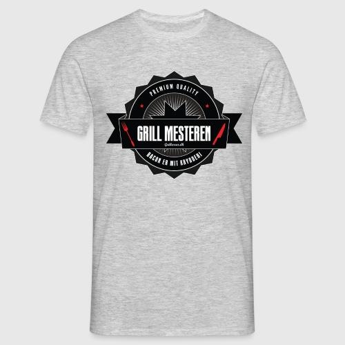 GRILLMESTEREN1 png - Herre-T-shirt