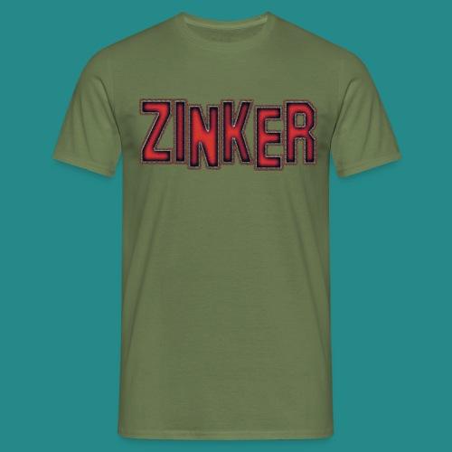 Zinker Logo trans - Männer T-Shirt