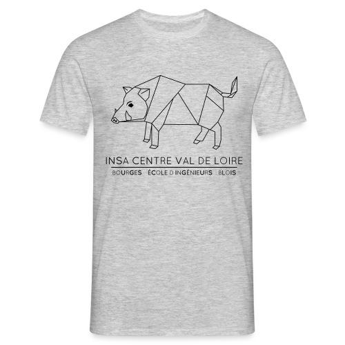 sanglier insa logo - T-shirt Homme