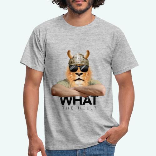 What the hell? - Männer T-Shirt