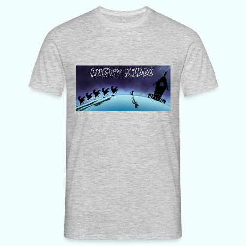 Angry kiddo run - T-shirt Homme