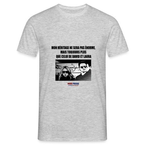 T shirt David et Laura - T-shirt Homme