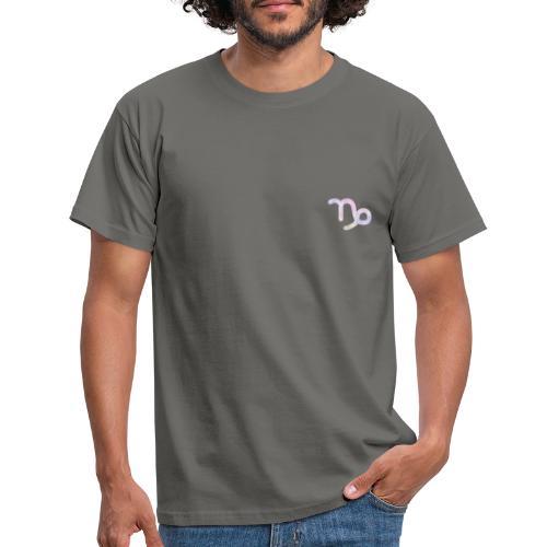 Símbolo zodiacal Capricornio - Camiseta hombre