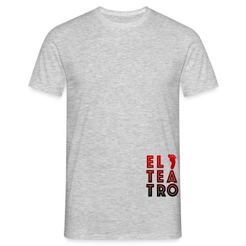 El Teatro rot schwarz - Männer T-Shirt